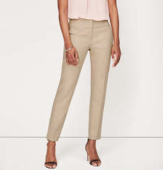 Petite Double Dobby Ankle Pants in Julie Fit