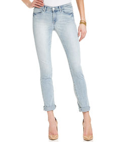Calvin Klein Jeans Skinny Cropped Jeans, Light Ice Wash