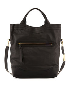 Foley + Corinna Large Muriella Convertible Tote Bag, Black