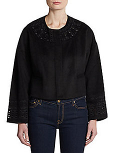 Catherine Malandrino Alfonsa Embroidered Jacket