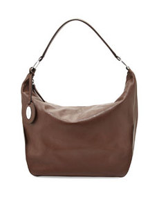 Furla Hope Leather Medium Hobo Bag, Brown