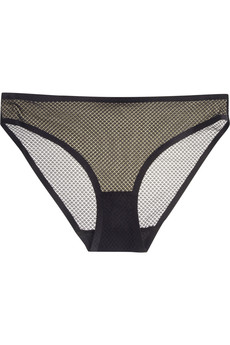 Stella McCartney Stella low-rise stretch-tulle briefs
