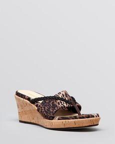 Taryn Rose Platform Wedge Sandals - Keely
