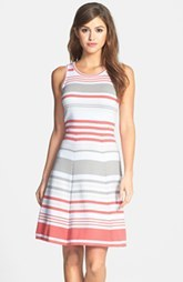 Marc New York by Andrew Marc Stripe Cotton Knit Dress