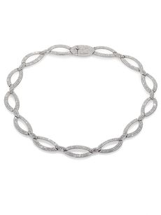 Adriana Orsini Open Oval Link Necklace