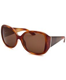 Fendi Women's Square Havana Sunglasses