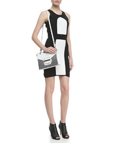 Colorblock Ponte Sheath Dress   Colorblock Ponte Sheath Dress