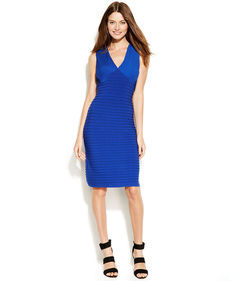 Calvin Klein Sleeveless Banded Body-Con Dress