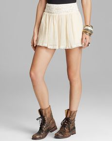 Free People Shorts - Crochet Lace