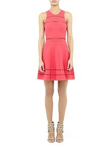 Cody Fit and Flare Dress
