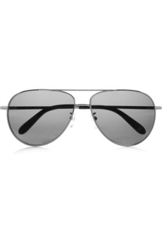 Givenchy Aviator metal polarized sunglasses