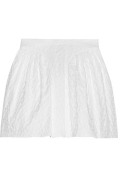 Jill Stuart Abbey embroidered voile skirt