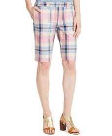 Tommy Hilfiger Plaid Bermuda Shorts