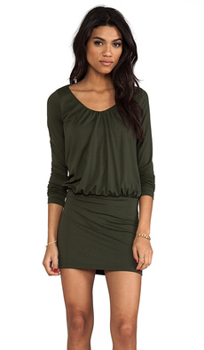 Susana Monaco Kasia Dress in Olive