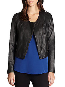 Joie Kamari Leather Moto Jacket