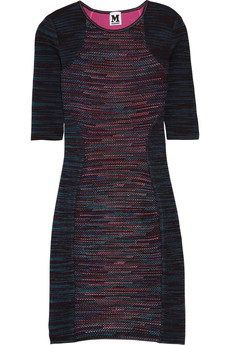 M Missoni Stretch-knit sheath dress