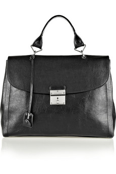 Marc Jacobs The 1984 glossed-leather tote