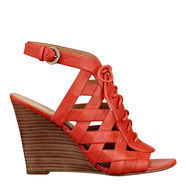 Maximilian Peep Toe Wedge Sandals