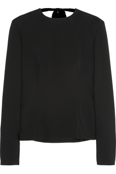 Miu Miu Open-back cady top
