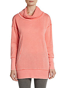 MARC NEW YORK by ANDREW MARC Performance Thermal-Detailed Funnel-Neck Tunic