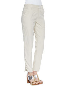 In A Trance Drawstring-Cuff Pants   In A Trance Drawstring-Cuff Pants