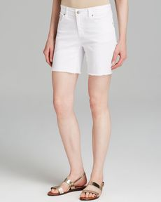Eileen Fisher Cutoff Denim Shorts