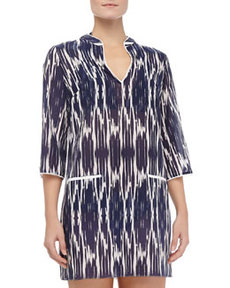 Shoshanna Nautical Tunic Coverup