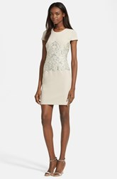 Tracy Reese Embellished Sheath Dress