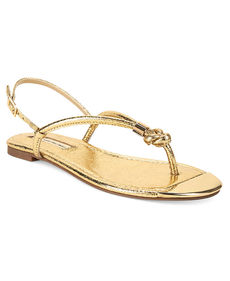 INC International Concepts Women's Moirah Flat Thong Sandals