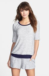 Three Dots Bouclé Raglan Sweatshirt