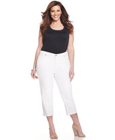 Jones New York Signature Plus Size Capri Jeans
