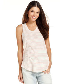 Calvin Klein Jeans Striped Sleeveless Tank Top
