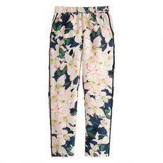 Collection track pant in cove floral