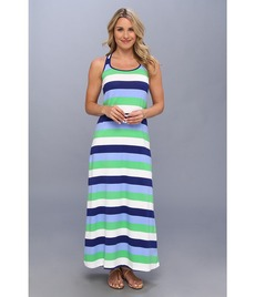 Tommy Bahama Skipper Stripe Long Tank Dress Cover-Up