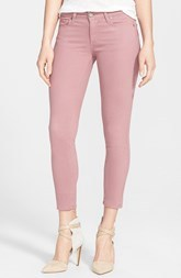 Paige Denim 'Verdugo' Crop Skinny Jeans (Antique Rose)