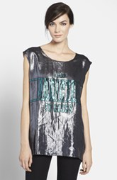 Lanvin 'I Am Addicted to Gloss' Lamé Top