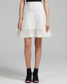DIANE von FURSTENBERG Skirt - Samara Structured Fit and Flare