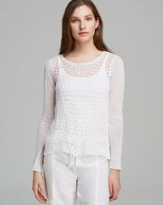 Eileen Fisher Scoop Neck Top