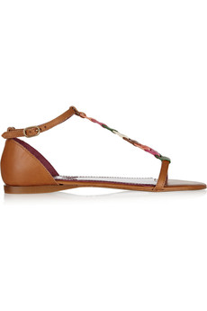 M Missoni Leather sandals