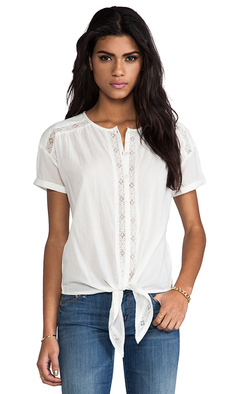 Soft Joie Lois Tee in White