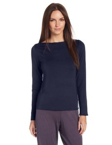 Calvin Klein Women's Icon Long Sleeve Pajama Top
