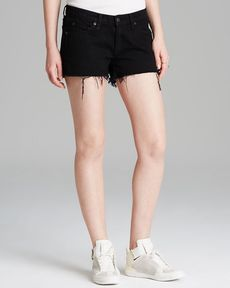 rag & bone/JEAN Shorts - Cutoffs in Coal