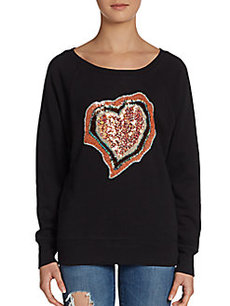 French Connection Agate Heart Sweater