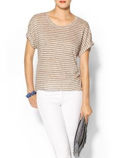 Michael Stars Linen Knit Scoop Tee
