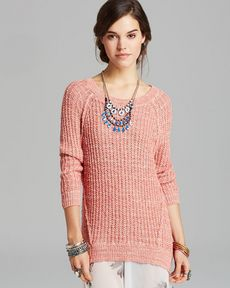 Free People Pullover - Star Dune Marled
