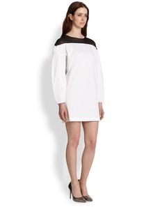 Robert Rodriguez Illusion Yoke Dress