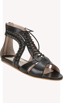 Miu Miu Lace-Up Gladiator Sandals