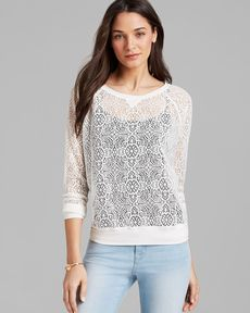 Michael Stars Sweatshirt - Lace