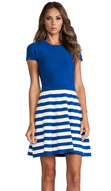 Trina Turk Cozumel Dress in Blue