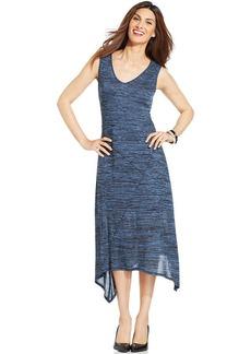 Style&co. Printed V-Neck Tank Dress
